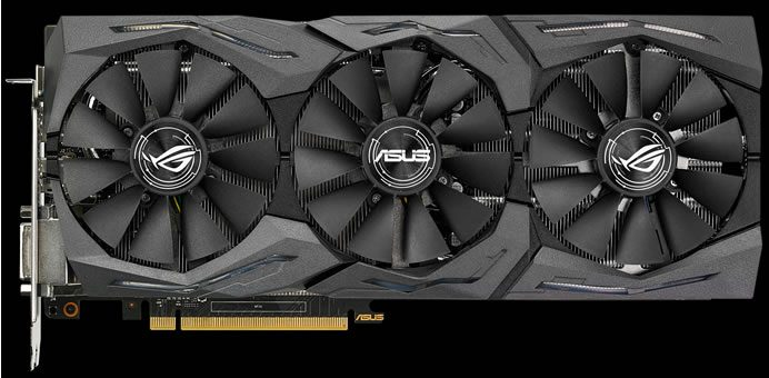 Asus_ROG Strix GeForce GTX 1080_tri_fans