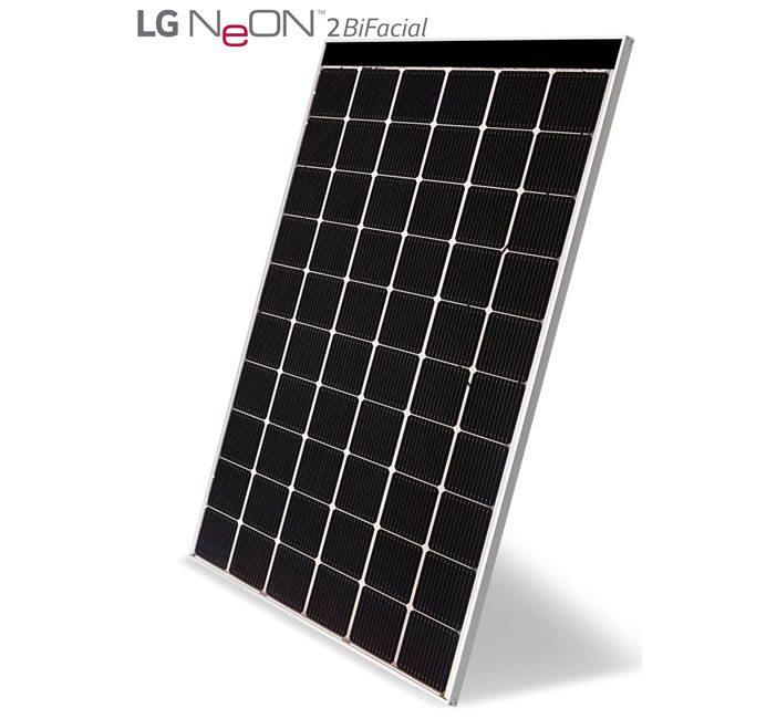 LG_NeON_2 BiFacial solar module
